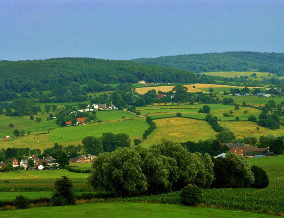 Uitzicht Camping Zuid Limburg